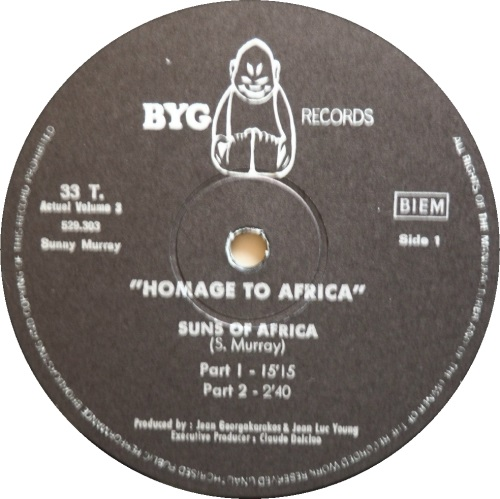 sunny murray hommage to africa label 1